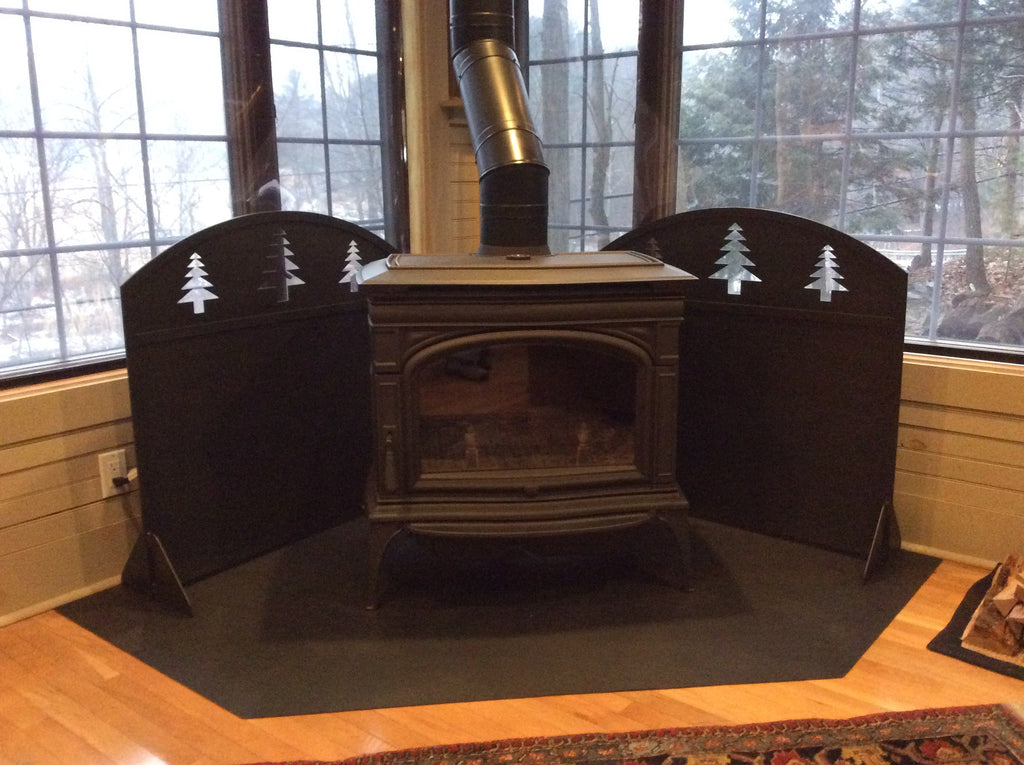Fireplace Heat Shields Pocono Metal Craft