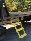 Retractable Truck Step with Non-slip Tread Universal 3STEPYELLOW