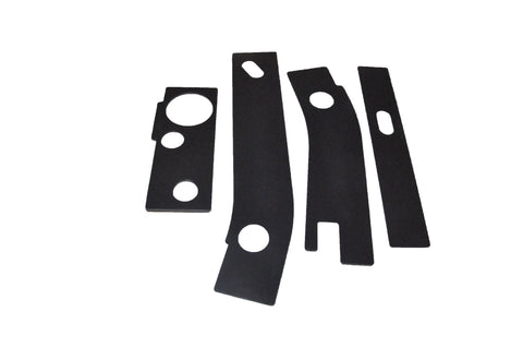 4 Piece Frame Repair Kit for 1986-1995 Jeep Wrangler YJ - Free Shipping!