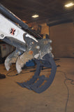 Log Grapple Rake for Bobcat Excavator E Series LOGGRAPPLE
