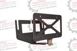 Winch License Plate Bracket