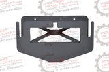 Flip Up Winch License Plate Bracket