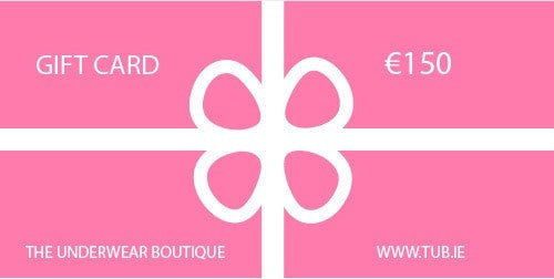 The Underwear Boutique Gift Card €150 Gift Card