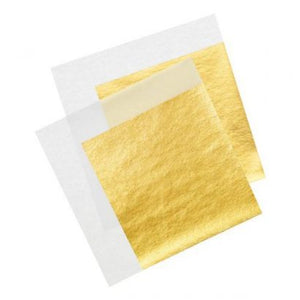 24K Gold Leaf Sheets