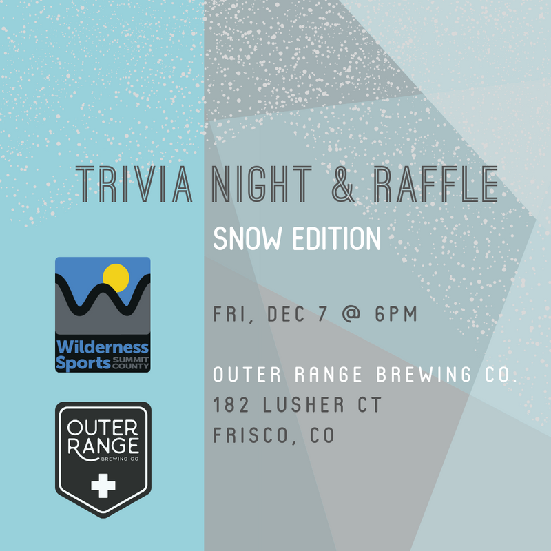 Outer Range Trivia Night