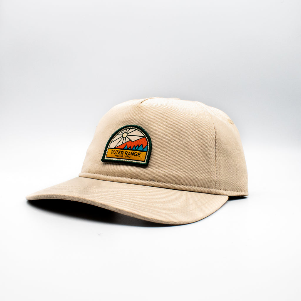 Mountain Sun Dad Hat