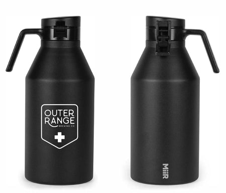 Outer Range - Frisco Brewery - Black Miir Growler (64 oz)