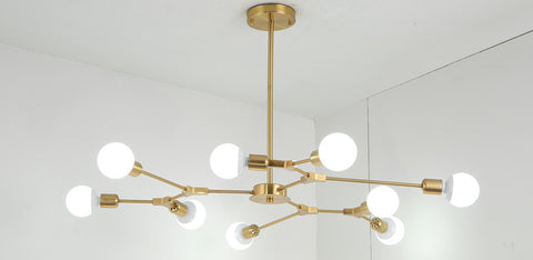 mid century modern lighting at farrey's