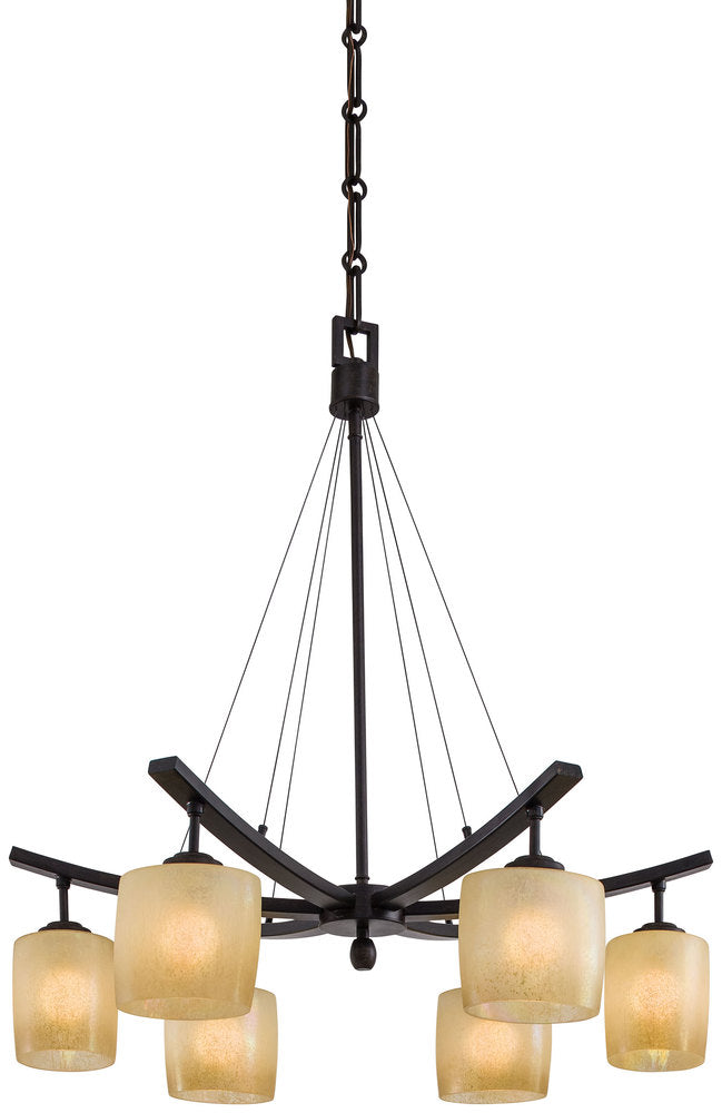 Raiden - 6 Light Chandelier 1186