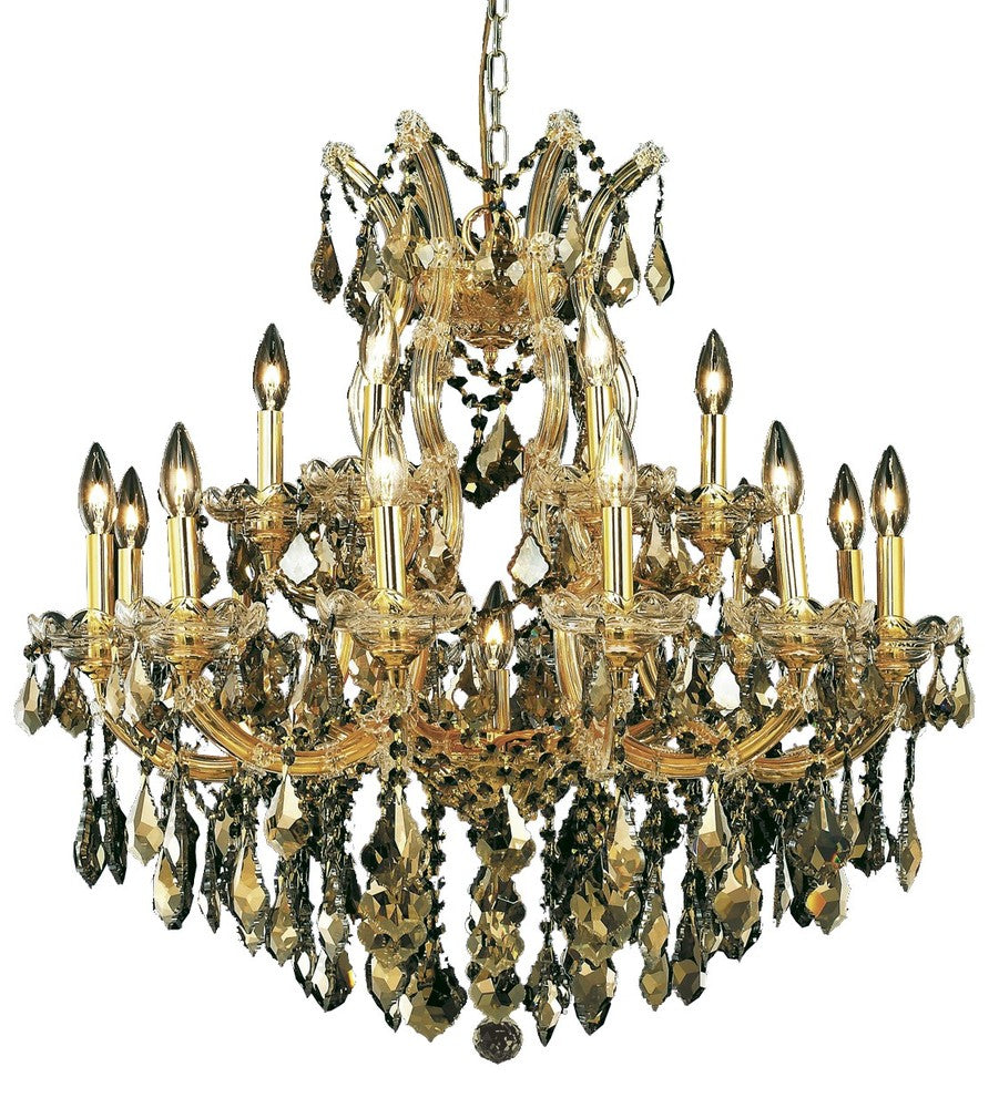 Maria Theresa 19 light Gold Chandelier 2800d30g-gt/ss