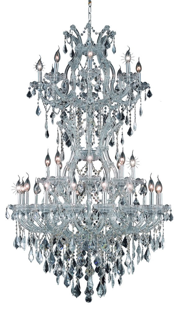 Maria Theresa 34 light Chrome Chandelier 2800d36sc/ec