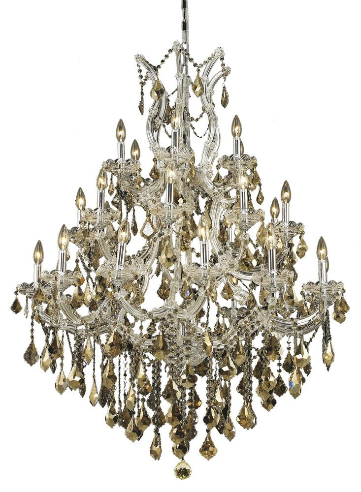 Maria Theresa 28 light Chrome Chandelier 2800d38c-gt/rc