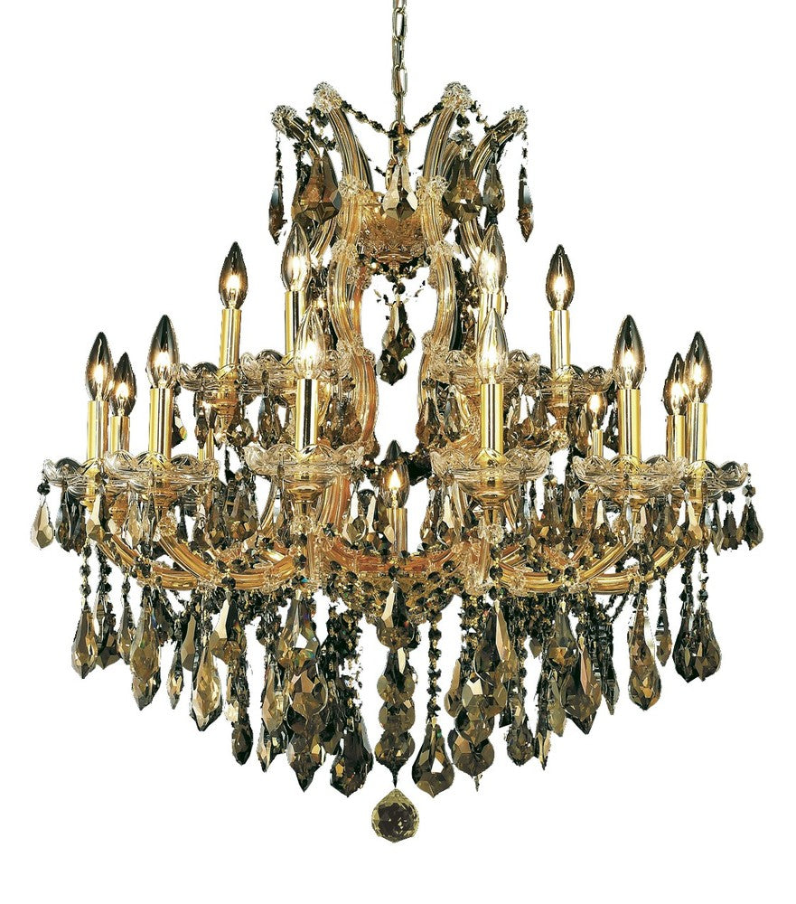 Maria Theresa 19 light Gold Chandelier 2801d30g-gt/rc