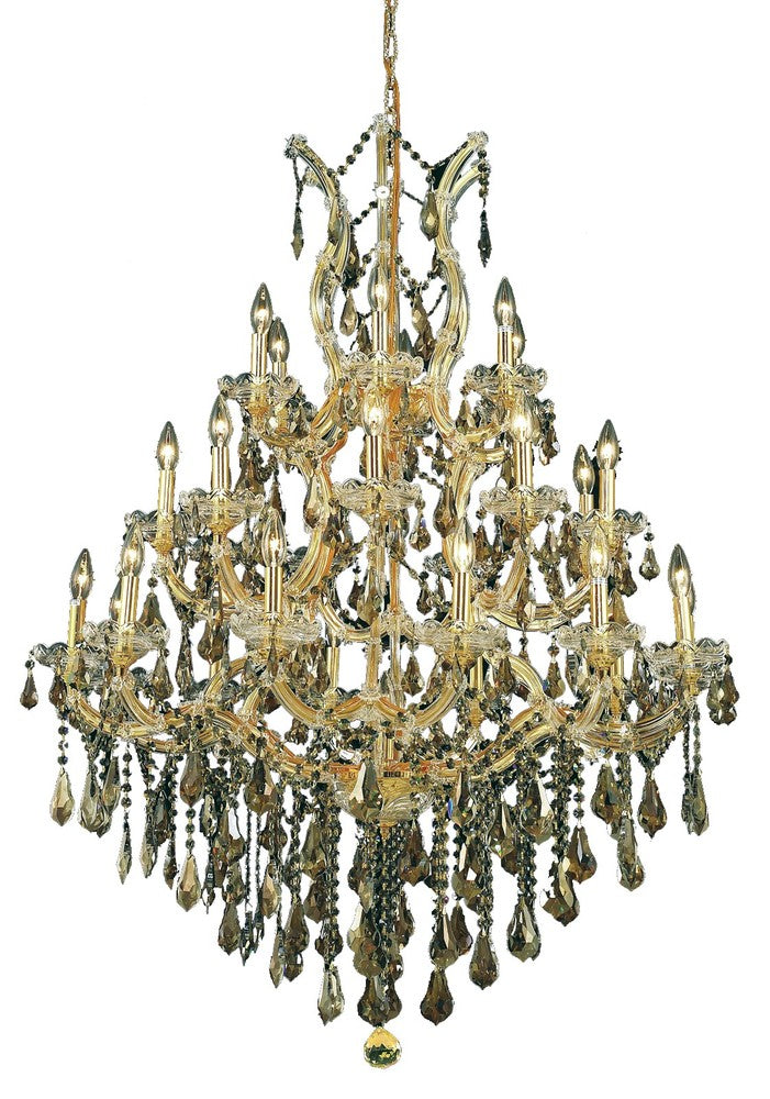 Maria Theresa 28 light Gold Chandelier 2801d38g-gt/rc