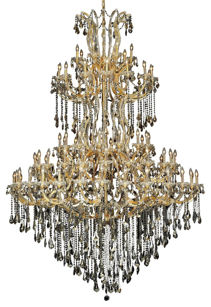 2801 Maria Theresa Collection Chandelier D:72in H:96in Lt:85 Gold Finish (Royal Cut Crystals) 2801g96g-gt/rc