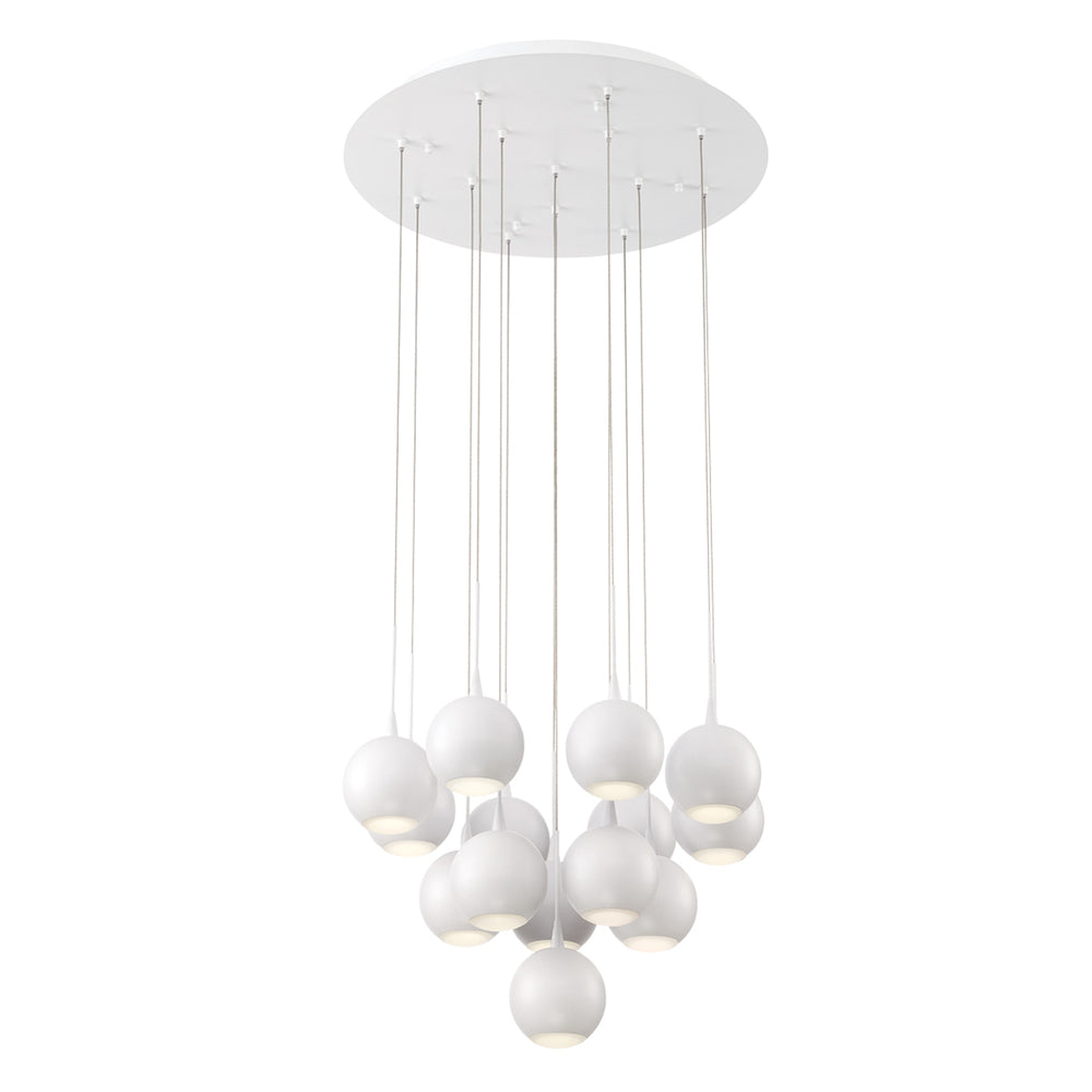 PATRUNO,14LT LED CHANDELIER,W 28174-011*