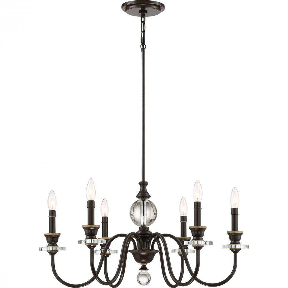 Ceremony Chandelier CRY5006PN