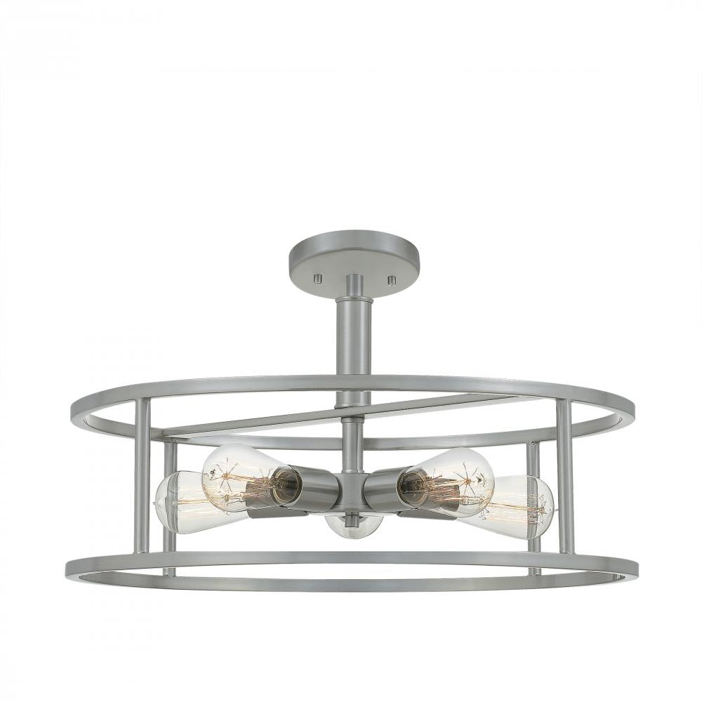 New Harbor Semi-Flush Mount NHR1720BN