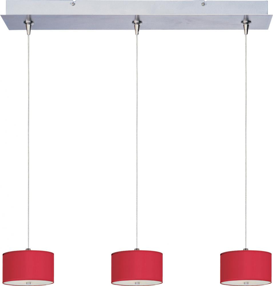 Elements 3-Light RapidJack Pendant and Canopy E95496