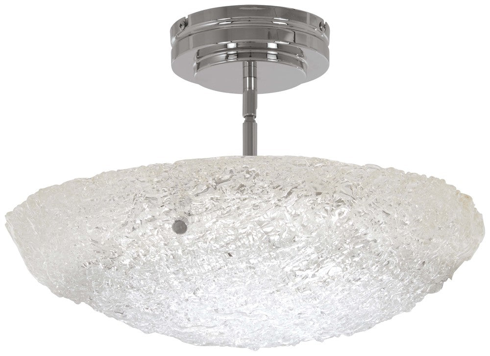 Forest Ice - LED Pendant (Convertible To Semi Flush) P1387
