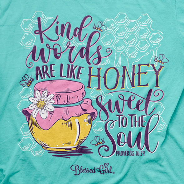 Blessed Girl Womens T-Shirt Honey T-Shirts