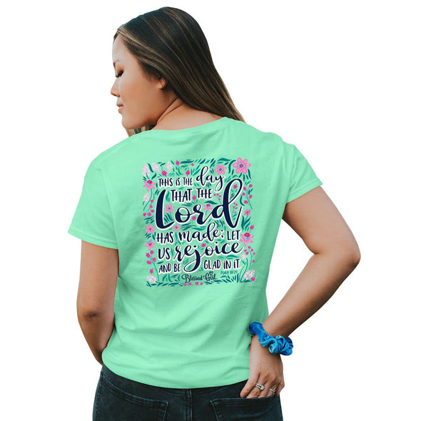 Blessed Girl Womens T-Shirt Rejoice T-Shirts