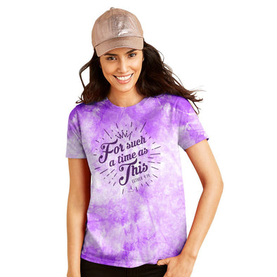Blessed Girl Womens Tie Dye T-Shirt Esther T-Shirts