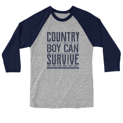 Light Source Mens Raglan T-Shirt Country Boy T-Shirts