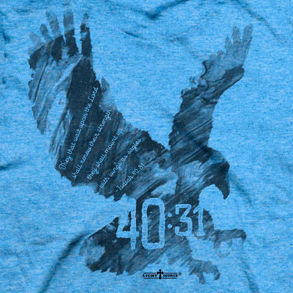 Light Source Mens T-Shirt Eagle