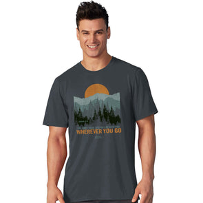 Light Source Mens T-Shirt Wherever You Go T-Shirts