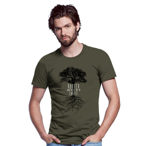 Light Source Mens T-Shirt Rooted Heather T-Shirts
