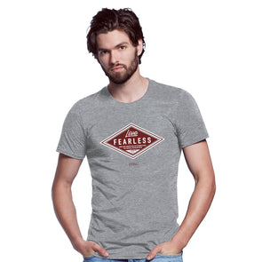 Light Source Mens T-Shirt Fearless Diamond T-Shirts