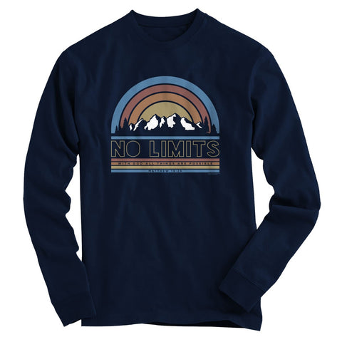 Light Source Mens Long Sleeve T-Shirt No Limits