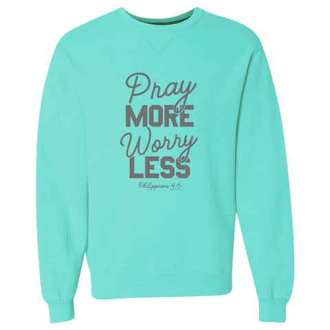 Pray More Crewneck Sweatshirt