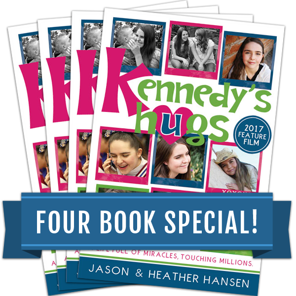 Kennedy's Hugs - Four Book Special
