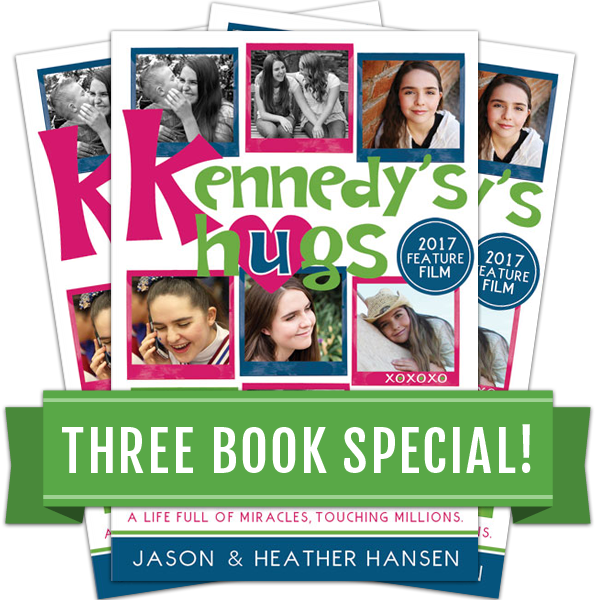 Kennedy's Hugs - Three Book Special