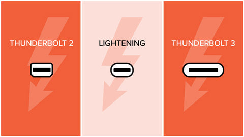 Thunderbolt 3 Vs  USB-C: What's The Difference?
