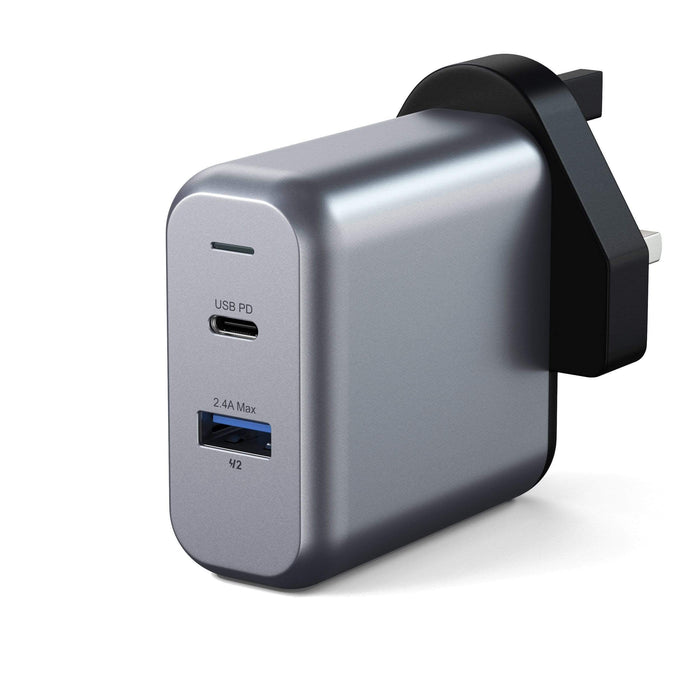 30W Dual-Port Wall Charger Wall Chargers Satechi