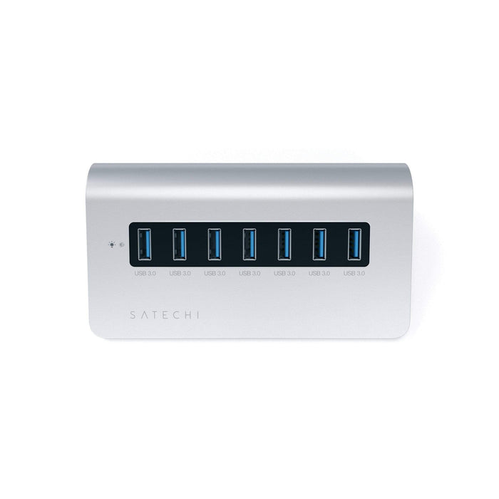 Aluminum 7-Port USB 3.0 Hub for iMac, MacBook Air, MacBook Pro, MacBook and Mac Mini USB Hubs Satechi