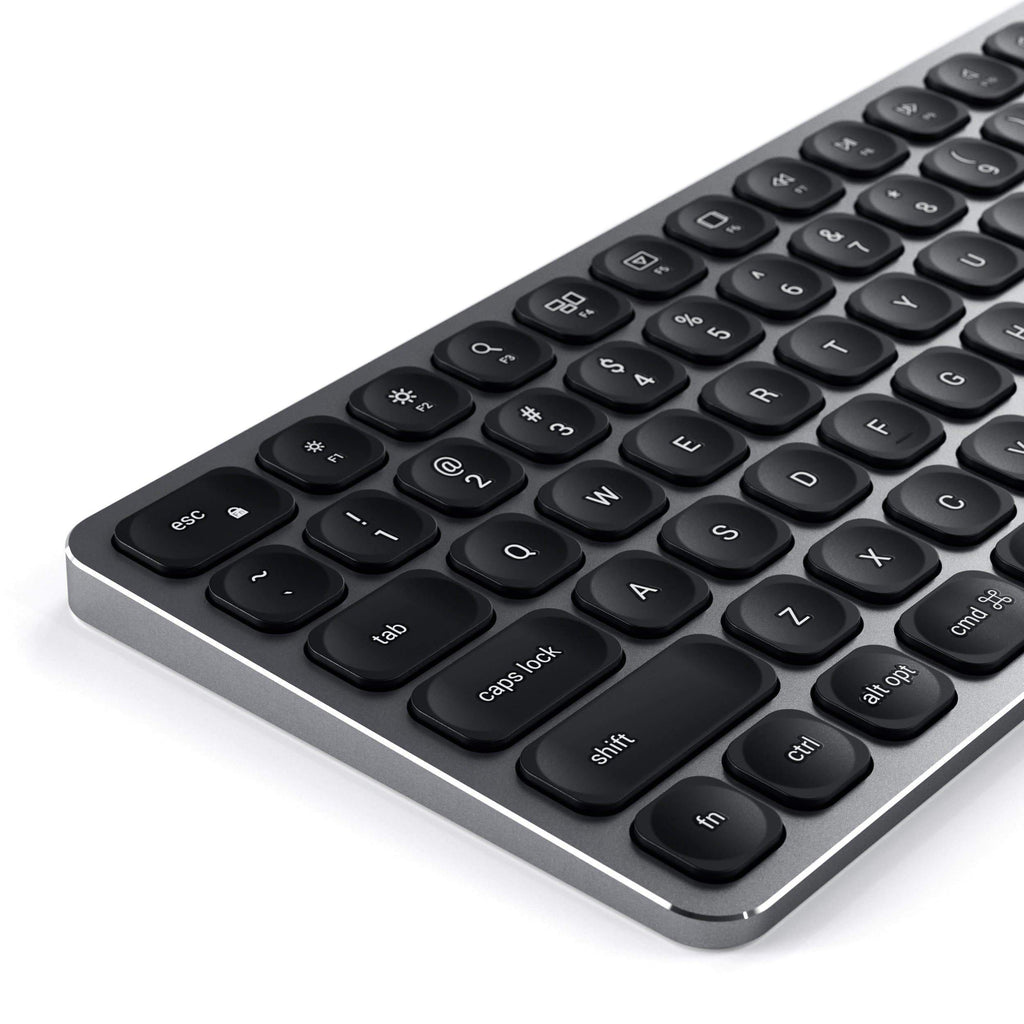 Aluminum Bluetooth Keyboard Keyboards Satechi Space Gray