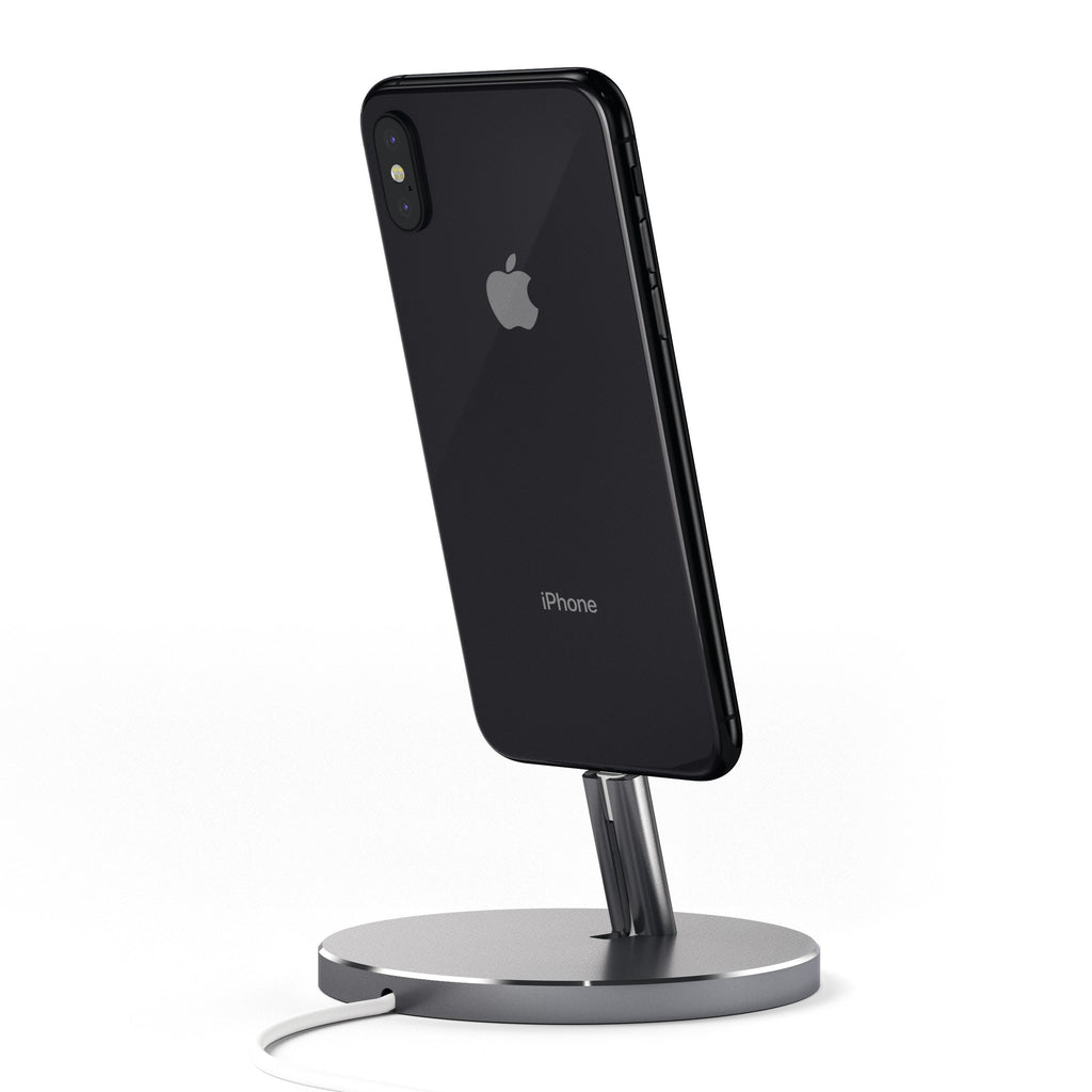 Aluminum Lightning Charging Stand Mobile/ Tablet Satechi Space Gray