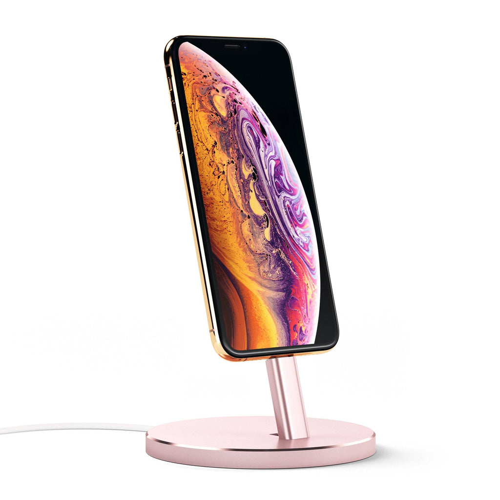 Aluminum Lightning Charging Stand Mobile/ Tablet Satechi Rose Gold