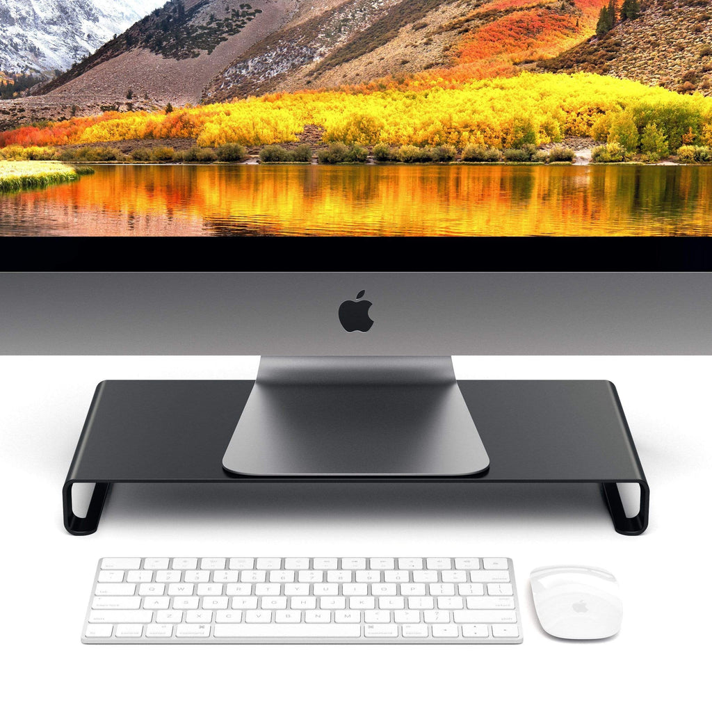 Aluminum Monitor Stand Computers/ Monitors Satechi Black