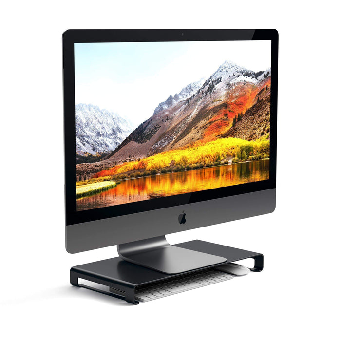Aluminum Monitor Stand Computers/ Monitors Satechi Matte Black