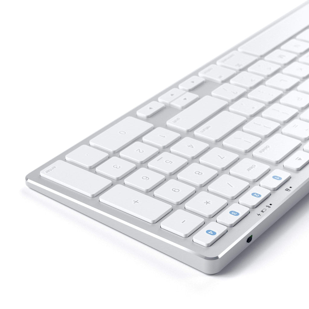 Aluminum Slim Wireless Keyboard Keyboards Satechi Silver