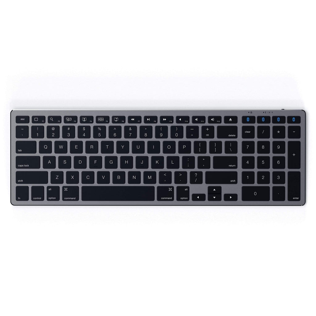 Aluminum Slim Wireless Keyboard Keyboards Satechi Space Gray