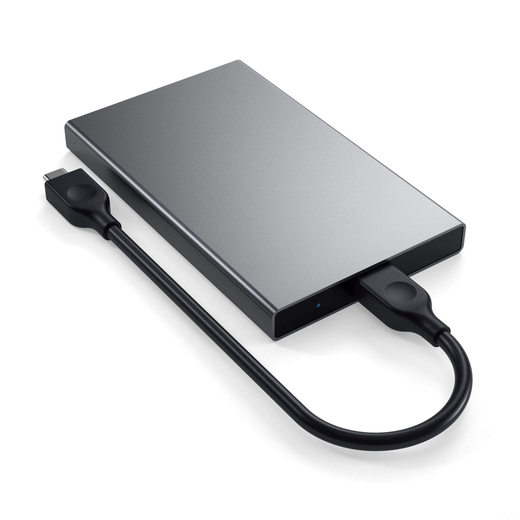 Aluminum Type-C HDD / SSD Enclosure HDD Case Satechi Space Gray