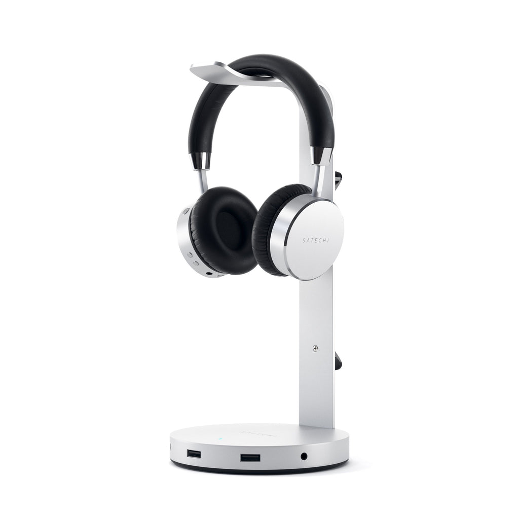 Aluminum USB-C Headphone Stand Stands ## Hubs Satechi Silver