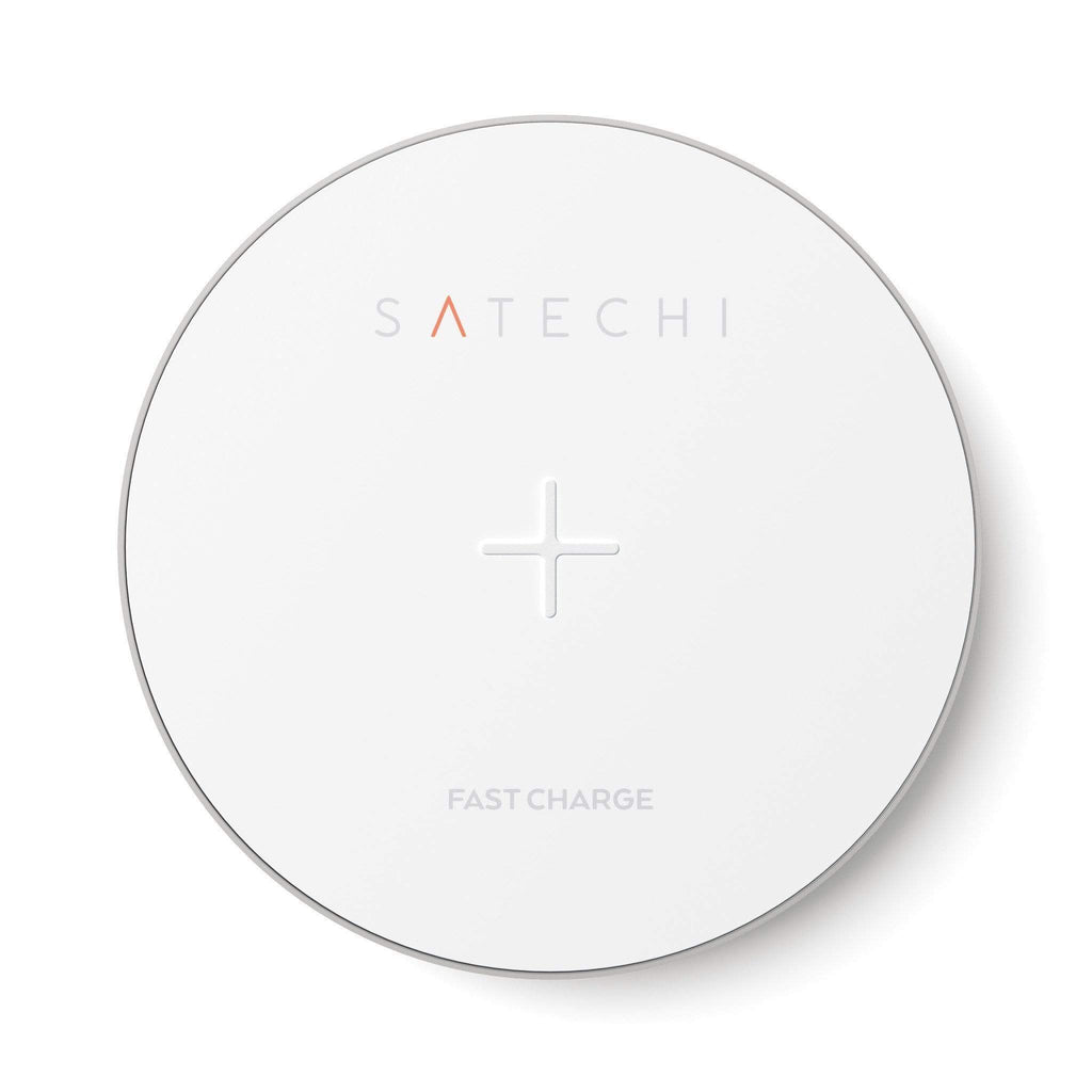 Aluminum Wireless Charger Portable Chargers Satechi Silver