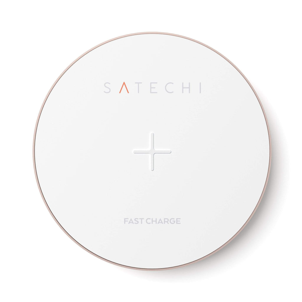 Aluminum Wireless Charger Portable Chargers Satechi Rose Gold